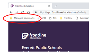 Frontline from Managed Boodmarks