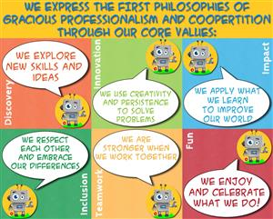 FLL Core Values Poster