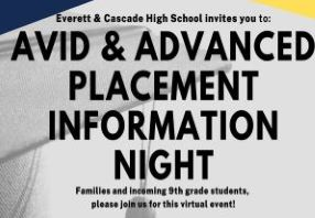 High School AVID & AP Night