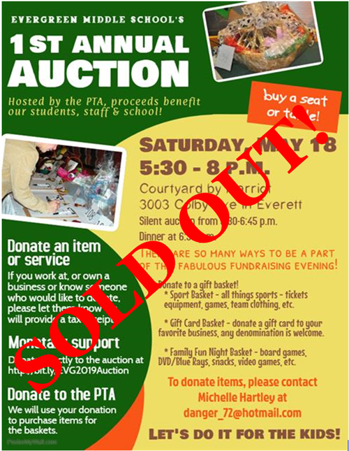SOLD OUT AUCTION