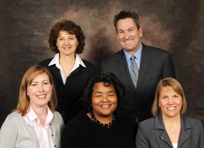 group photo of the school board