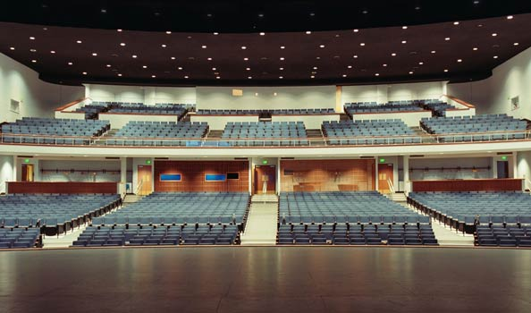 Everett Civic Auditorium Inside