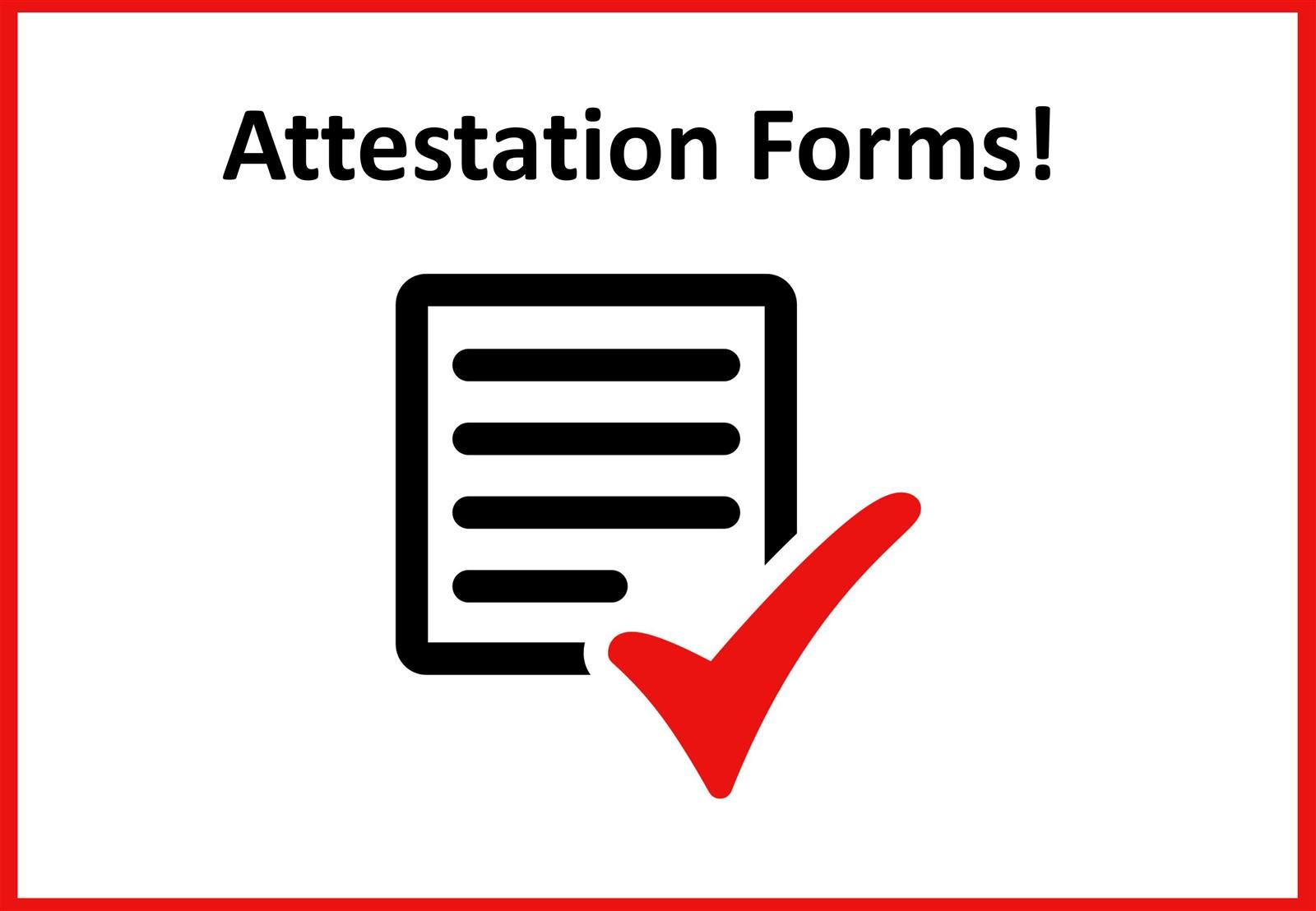 Quarterly Attestation Form