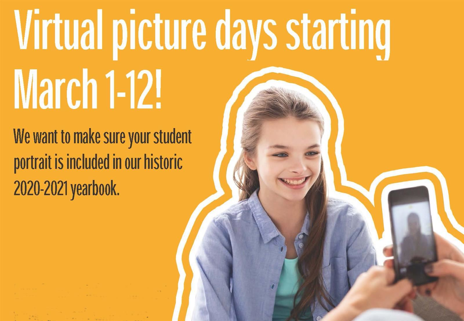 selfie photo advertising virtual picture day