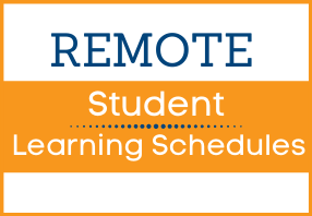remote student learning schedules