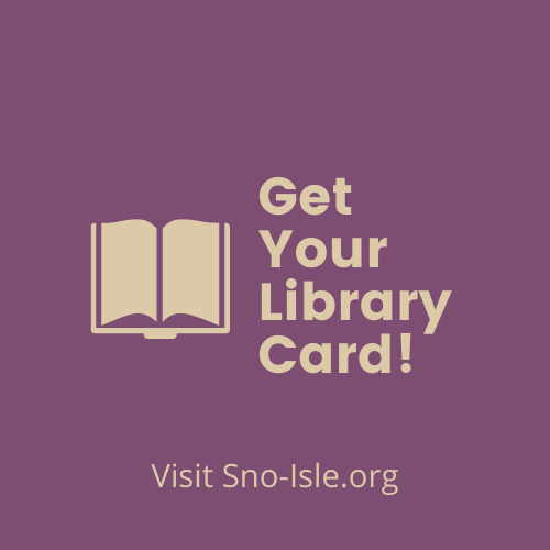 Sno-Isle Library Card Signup