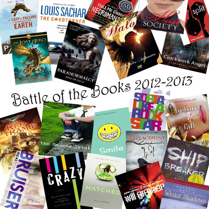 Battle of the Books montage