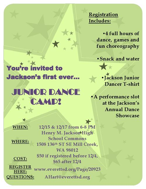 Junior Dance Camp