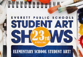 For the 2020-21 school year, the 23rd Annual Student Art Show will go fully virtual. Elementary artw