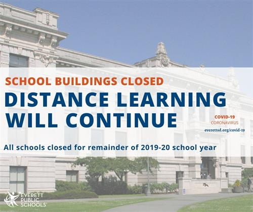 School buildings closed