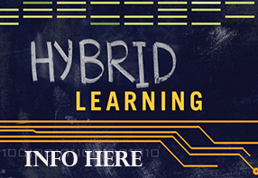 Hybrid Learning Information for students who are already participating in hybrid learning, or will be when allowed.