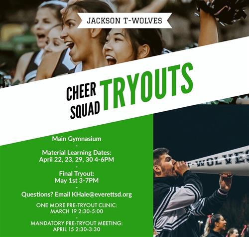 cheer tryout
