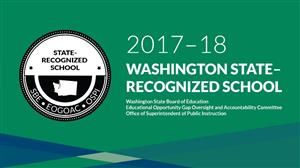 Madison Elementary is a State-Recognized School!