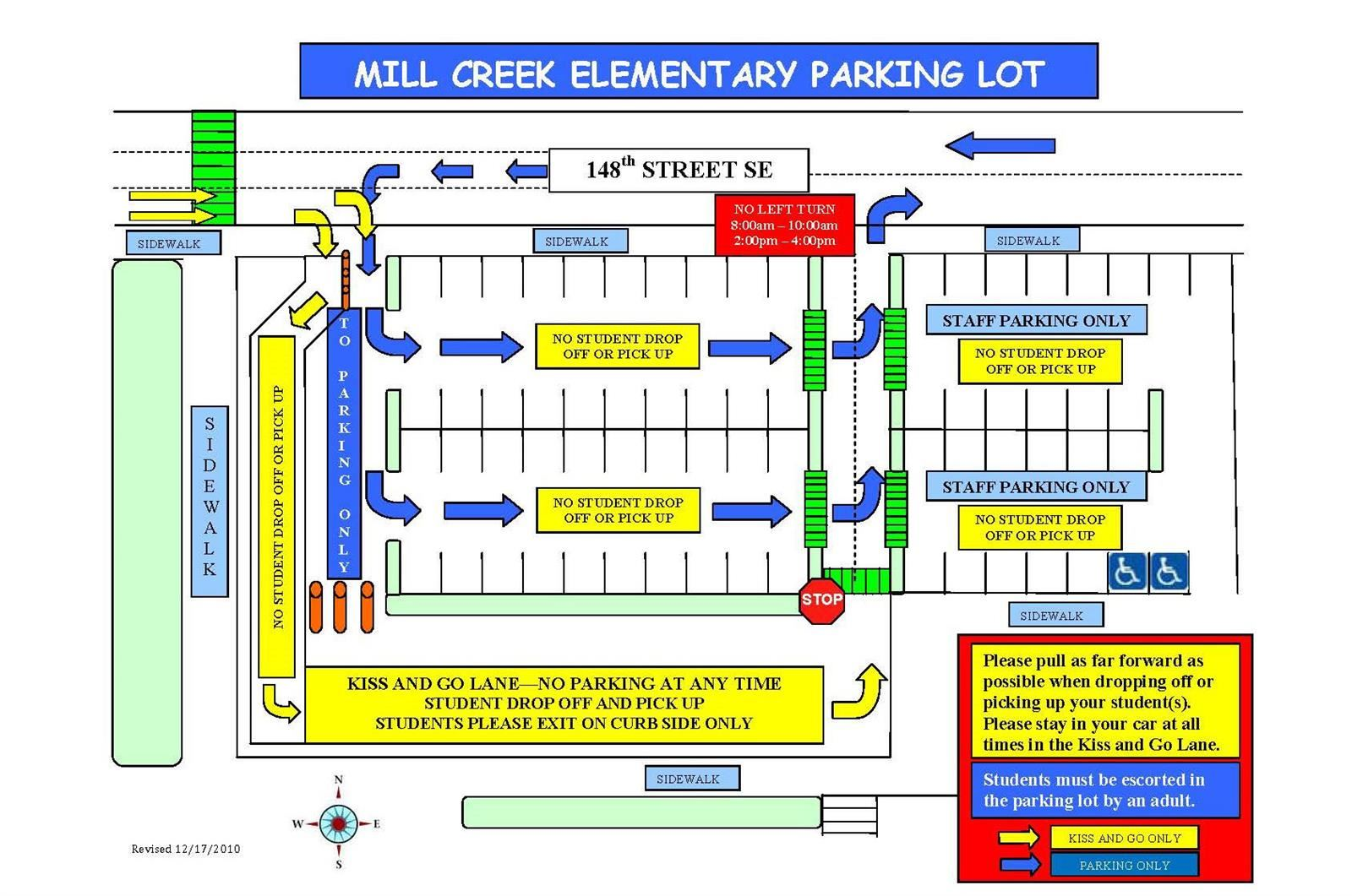 MCE Parking Lot Procedures