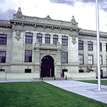 Everett High exterior finish restoration