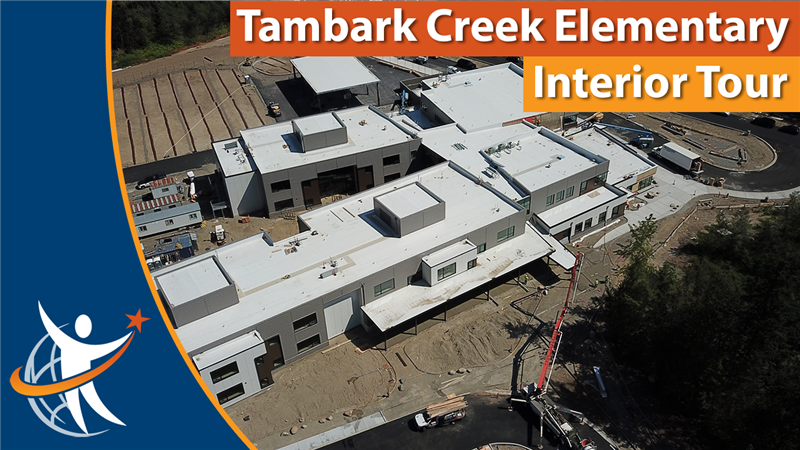 Tambark Creek Elementary interior tour
