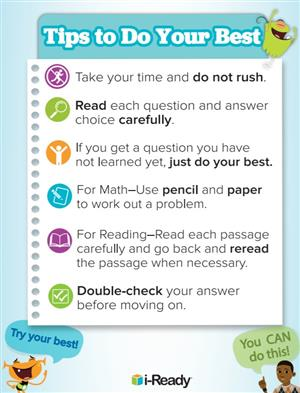 iReady Tips