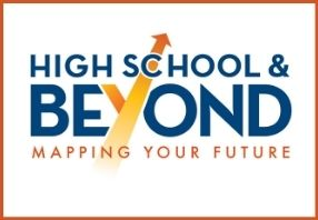 High School & Beyond Mapping Your Future logo with arrows