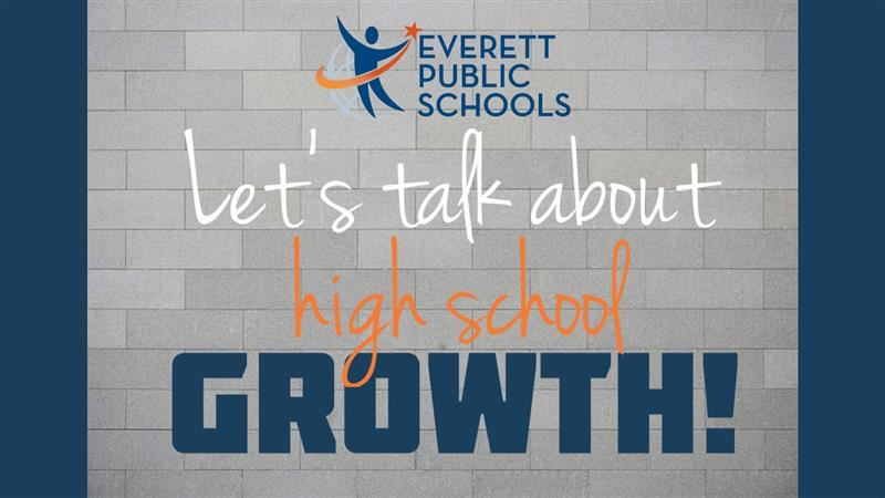 Let's talk about high school growth!