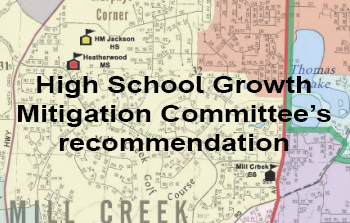 High School Growth Mitigation Committee's recommendation