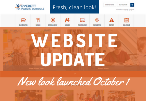 New look launched!