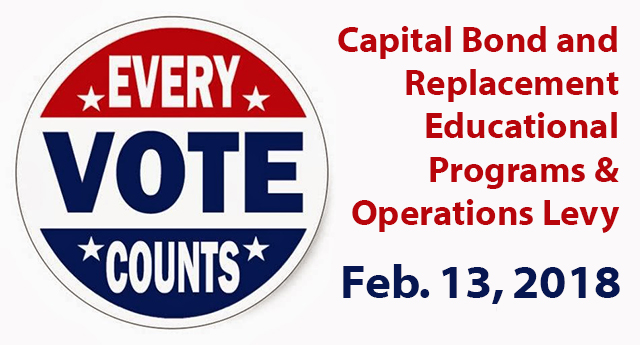 Every vote counts, so vote on Feb. 13, 2018.
