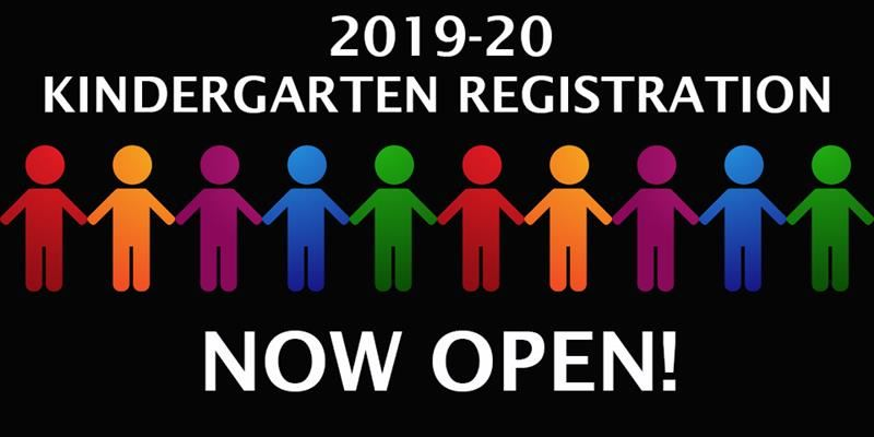 2019-20 kindergarten registration open