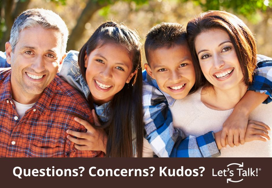 Questions? Concerns? Kudos? Let's Talk!