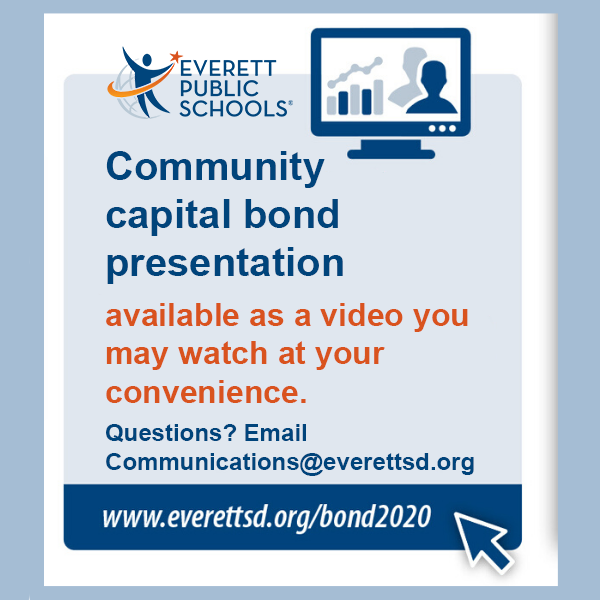 Community capital bond presentation now a video you may watch at your convenience.
