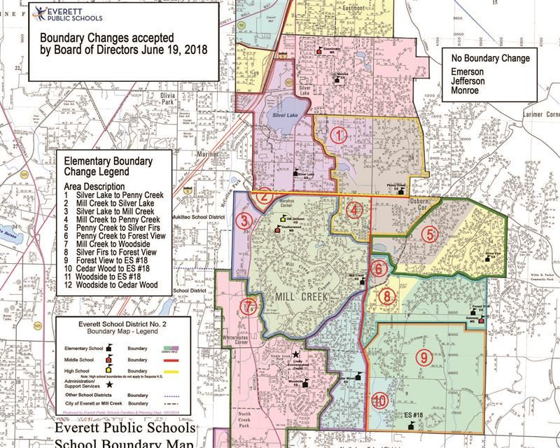 Board Approves Fall 2019 Elementary Boundary Revisions