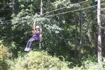 First Time on a Zipline! Summer 2016