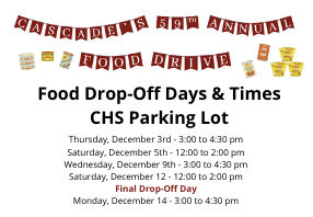 59th Annual Food Drive Information