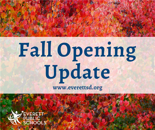Fall Opening Update