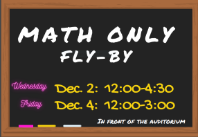 MATH ONLY FLY-BY