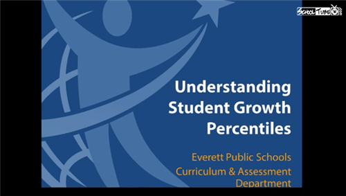 Undestanding student growth percentile title page