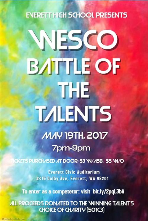 Wesco Battle of the Talents